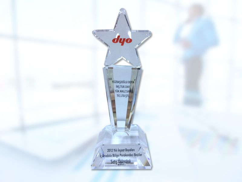 DYO - 2012 Yılı İnşaat Boyaları İç Anadolu Bölge Perakendesi Bayiler Satış Üçüncüsü